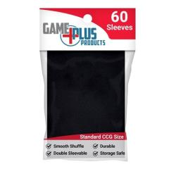 Standard Card Sleeves - Black (10 packs of 60)