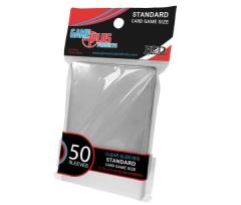 Standard Card Sleeves - Clear (10 packs of 50)