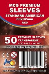 Standard American Sleeves (10 Packs of 50)