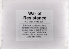 War of Resistance - China Theater (Plain White Box Edition)