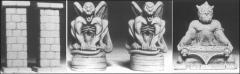 Demonic Altar & Pillars