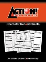 Action! System Character Record Sheets