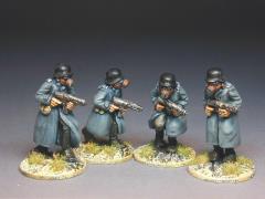 Sandmen in Greatcoats & Gasmasks w/MG's