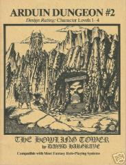 Arduin Dungeon #2 - The Howling Tower (1st Printing)