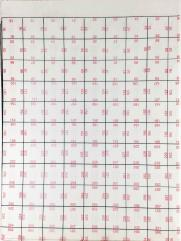"Red Numbered Fantasy Grid Pack - 1"" Squares (6)"