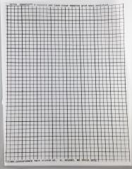 "Graffit - 1/4"" Square Clear Grid Overlay"