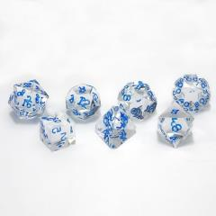 Poly Set - Diamond w/Blue (7)