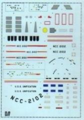 Ship Decals - NCC-2102 Unificatum, Dreadnought