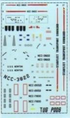 Ship Decals - NCC-3822 USS Newton, Tug