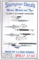 Federation - Class IX Starship Markings