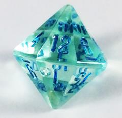 D16 Teal Zircon w/Blue (Laser Green)
