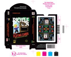 8-Bit Playing Cards - Black Deck