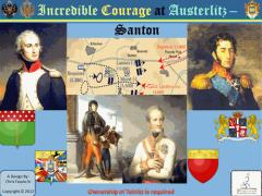 Incredible Courage at Austerlitz - Santon