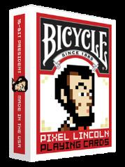Pixel Lincoln - Bicycle Playing Cards