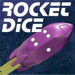 Rocket Dice - Purple (6)