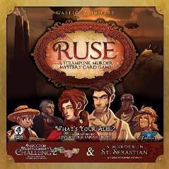 Ruse - A Steampunk Murder Mystery Card Game