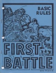 First Battle - Basic Rules