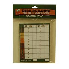 Deck Building - The Deck Building Game Score Pad