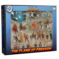 Miniatures Set - The Flame of Freedom (Pre-Painted)