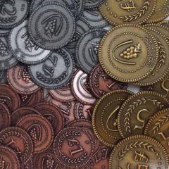 Tuscany Metal Coins