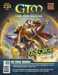 """#230 """"Keyforge - Age of Ascension, X-Men Regenesis HeroClix, Zombicide Invader"""""""