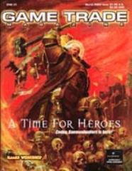 """#37 """"Warlord Promo Card, A Time for Heroes"""""""