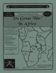 Great War in Africa, The (1st Edition)