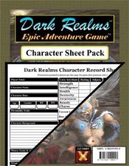 Character Sheet Pack (40)