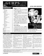 GURPS Lite (3rd Edition)
