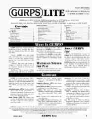 GURPS Lite (4th Edition)
