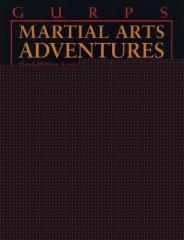 Martial Arts Adventures