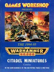 Citadel Miniatures Catalog 1994-95 (Warhammer 40,000)