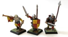 Bretonnian Men-at-Arms Command Collection #1