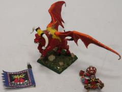 Chaos Dwarf Lord on Great Taurus #4