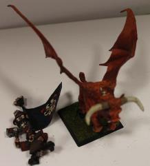 Chaos Dwarf Lord on Great Taurus #5