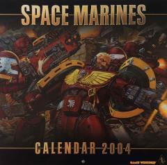 2004 Calendar - Space Marines