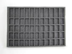 "1 1/2"" 55 Standard Troop Foam Tray"