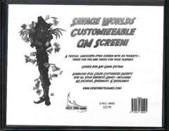 Customizable GM Screen
