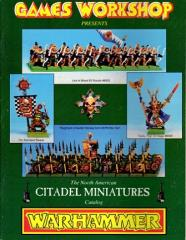 North American Citadel Miniatures Catalog - Warhammer Fantasy 1993