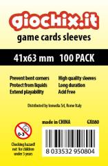 41x63mm Transparent Card Sleeves (100)