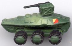 Hunter Wheeled Tank Dest.