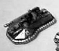 Rommel Hover Rail Gun Tank