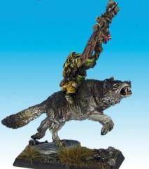 Goblin Wolf Rider Standard Bearer