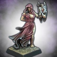 Sorceress w/Familiar