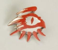 Gangrel Clan Pin