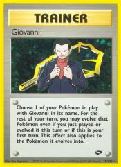 Giovanni (R) #104