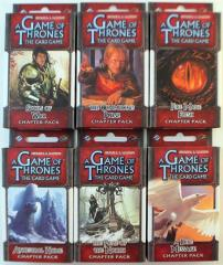 Game of Thrones - Conquest and Defiance Chapter Packs Collection