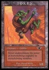 Goblin Token (Legions) (P)