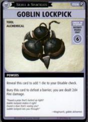 Skull & Shackles Promo Card - Goblin Lockpick