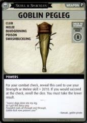 Skull & Shackles Promo Card - Goblin Pegleg